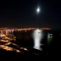 [ 5 VOTO(S) ] - AUTOR: Miguel Júlio | TEMA: Setubal by nigth with Moon.